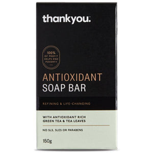 Thankyou Antioxidant Soap Bar Green Tea 150g