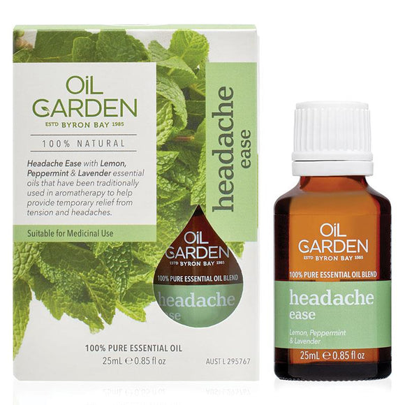 Oil Garden Medicinal Oil Headache Ease Oil 25ml