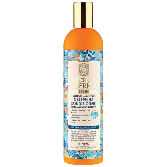 Natura Siberica Oblepikha Nutrition and Repair Conditioner 400ml