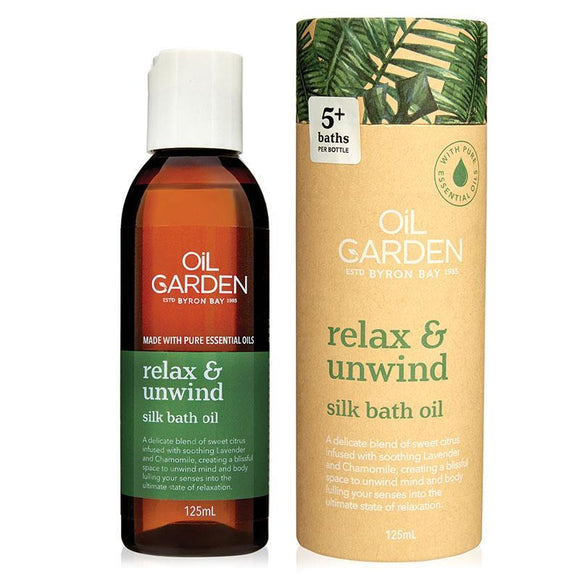 Oil Garden Relax And Unwind Bath Oil 125ml
