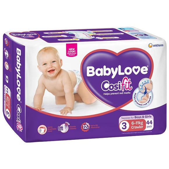 BabyLove Bulk Nappies Crawler 44 Pack