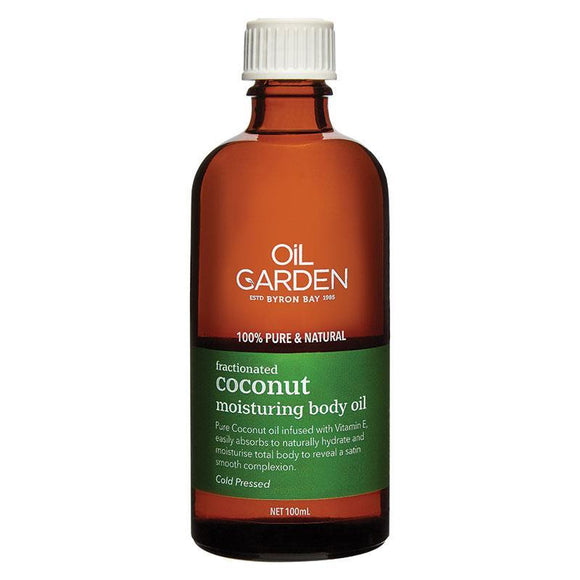 Oil Garden Fractionated Coconut Body Oil 100ml