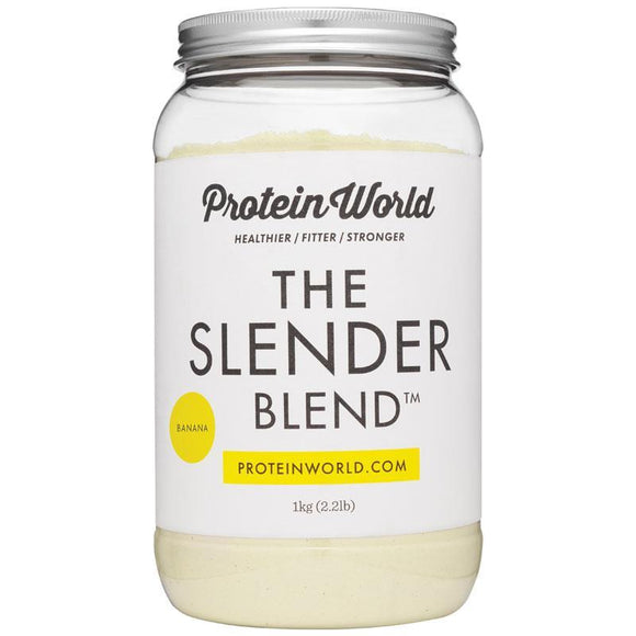 Protein World The Slender Blend Banana 1kg