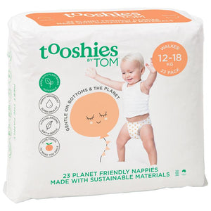 Tooshies by TOM Nappies Walker 23 Pack