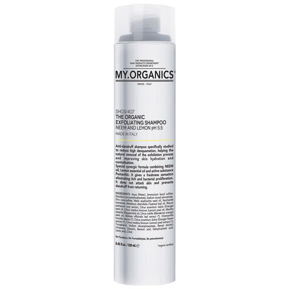 My Organics The Organic Exfoliating Shampoo with Neem and Lemon 250ml