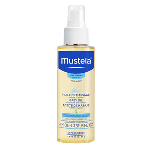 Mustela Baby Massage Oil 100ml Online Only