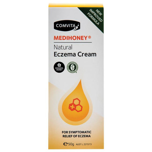 MediHoney Natural Eczema Cream 50g