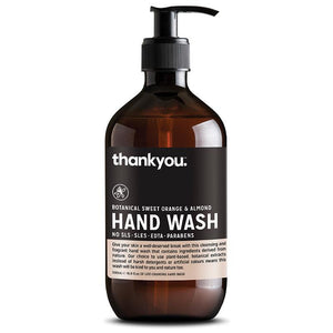 Thankyou Botanical Sweet Orange & Almond Hand Wash 500ml