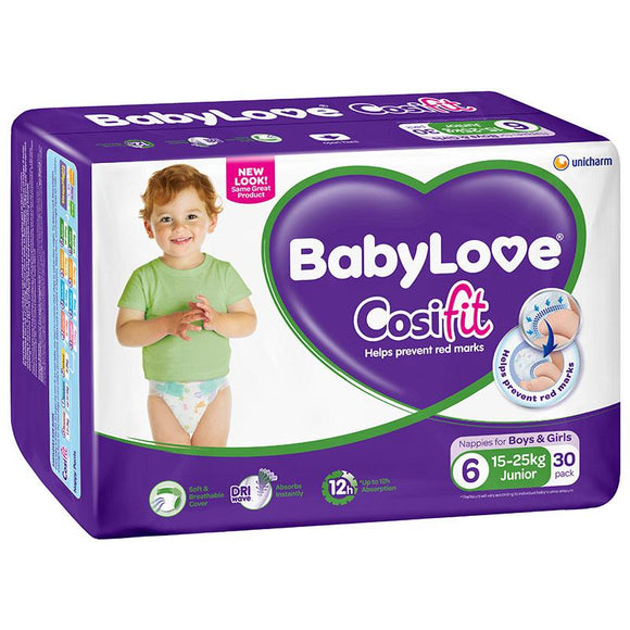 BabyLove Bulk Nappies Junior 30 Pack