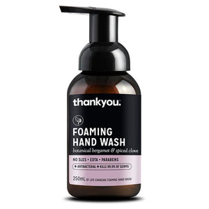Thankyou Foaming Hand Wash Botanical Bergamot & Spiced Clove 250ml