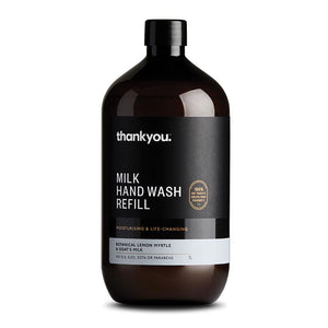 Thankyou Botanical Lemon Myrtle & Goats Milk Hand Wash Refill 1 Litres