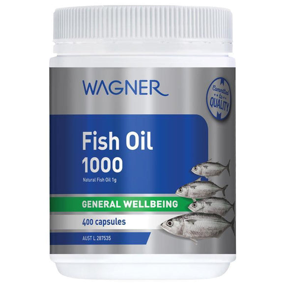 Wagner Fish Oil 1000 400 Capsules(ALERT-LOCAL Stocks AVAILABLE Delivery within 3 to 5 days)