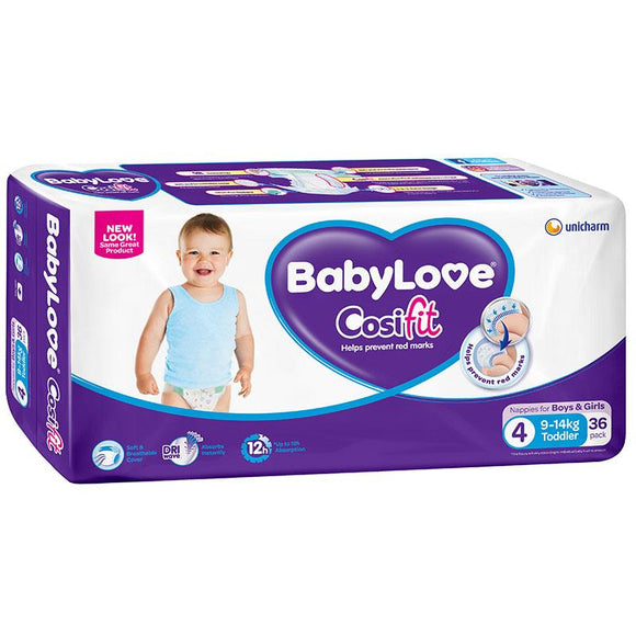 BabyLove Bulk Nappies Toddler 36 Pack