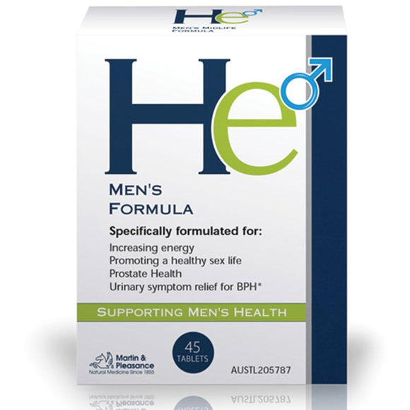 He Men's Midlife Formula 45 Tablets