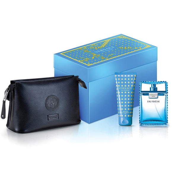 Versace Eau Fraiche 100ml 3 Piece Set
