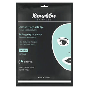 Moments4Me Bio Cellulose Anti-Ageing Face Mask