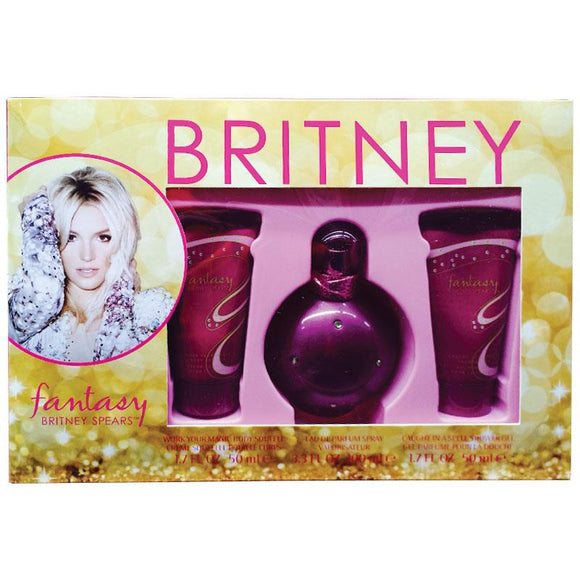 Britney Spears Fantasy 100ml 3 Piece Gift Set