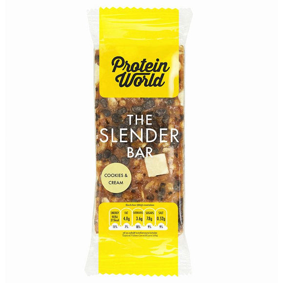 Protein World Slender Bar Cookies and Cream 60g