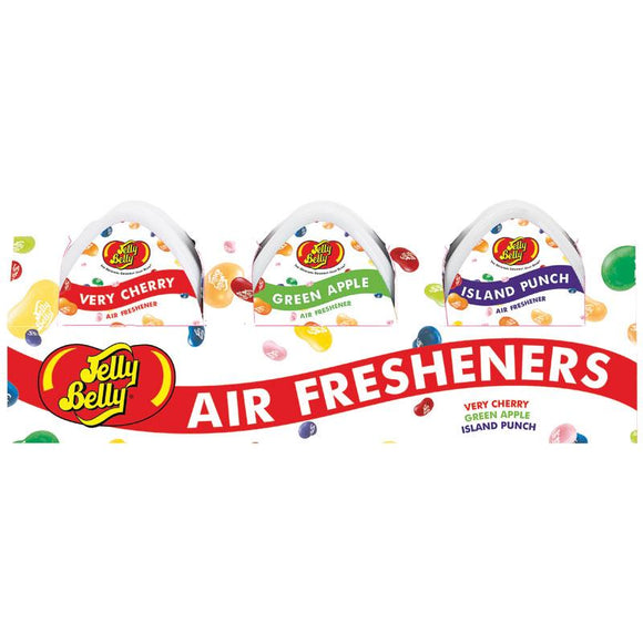 Jelly Belly Mini Gel Air Freshener 3 Pack