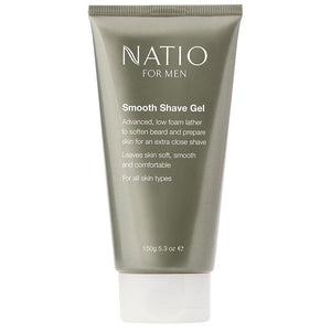 Natio Men's Smooth Shave Gel 150g