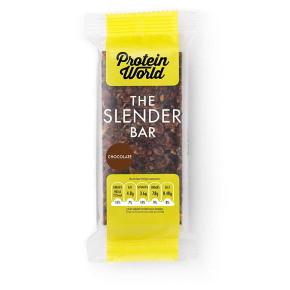 Protein World Slender Bar Chocolate 60g