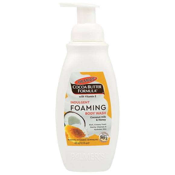 Palmers Cocoa Butter Foaming Body Wash Indulgent Coconut Milk & Honey 400ml