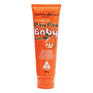 Healthy Care All Natural Paw Paw Baby Balm 100g