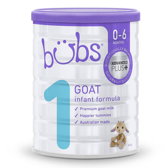 Bubs Goat Infant Formula 800g Online Only