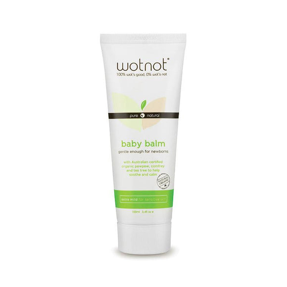 Wotnot All Natural Baby Balm and Nappy Rash Cream 100ml Online Only
