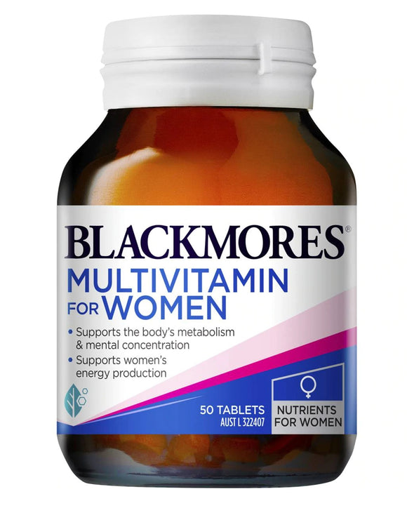 Blackmores Multi Vitamin for Women 50 Tablets