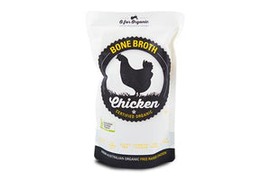 Certified Organic Chicken Bone Broth X 3 items ( O for Organic from Farmhouse)