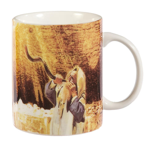 Coffee Mug: Blow the Shofar - Holy Land Gifts