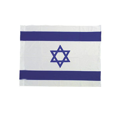 Banner Flag: Israel, Small - Holy Land Gifts