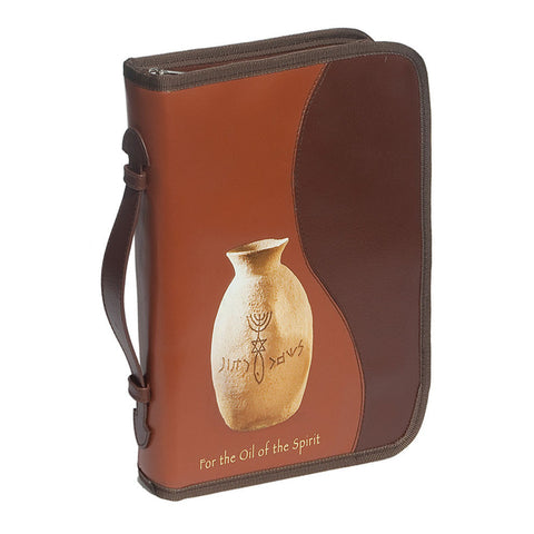 Bible Cover Oil of the Spirit - Holy Land Gifts
