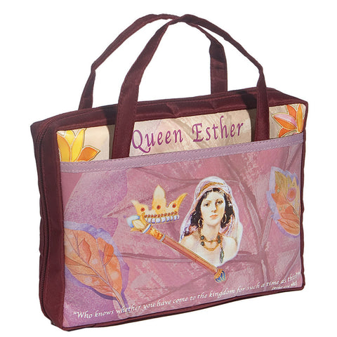 Bible Cover Queen Esther - Holy Land Gifts