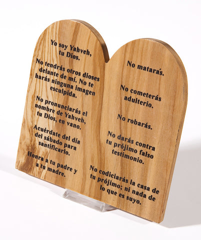 10 Commandments in Spanish