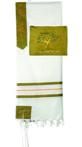Boaz Wool Tallit - Holy Land Gifts