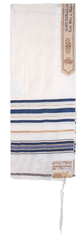 "50"" Blue Prayer Shawl (Acrylic)"