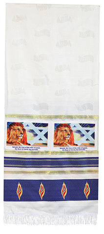 Lion of Judah Prayer Scarf