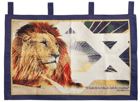 Spanish Lion of Judah Tapestry