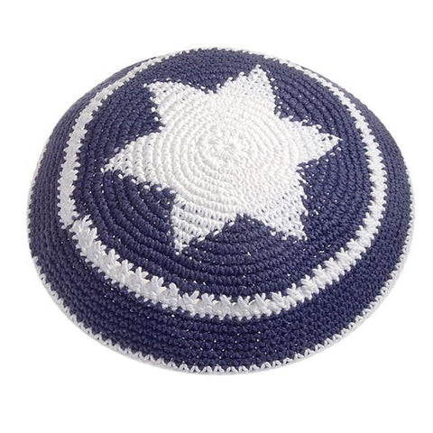 Star of David Crocheted Kippah