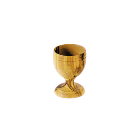 Small Olivewood Wine Cup - Holy Land Gifts