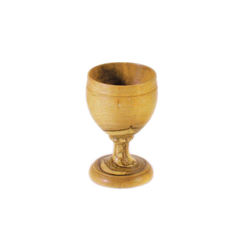 Medium Olivewood Wine Cup - Holy Land Gifts