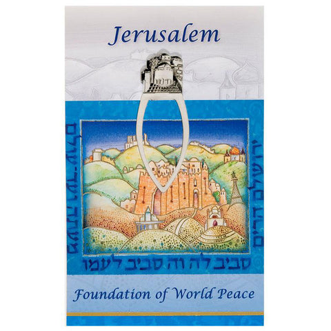 Bookmark with Card - 47115 - Holy Land Gifts