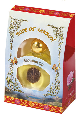 Anointing Oil: Rose of Sharon - Holy Land Gifts