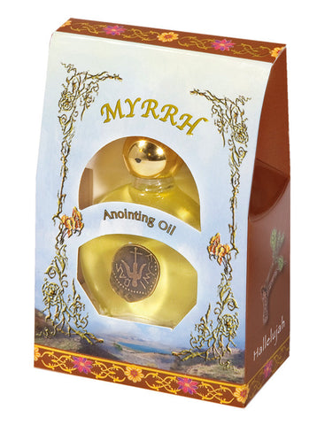 Anointing Oil: Myrrh - Holy Land Gifts