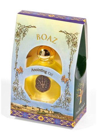 Boaz Anointing Oil - Holy Land Gifts