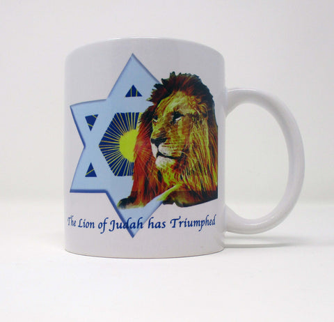 Lion of Judah Ceramic Mug