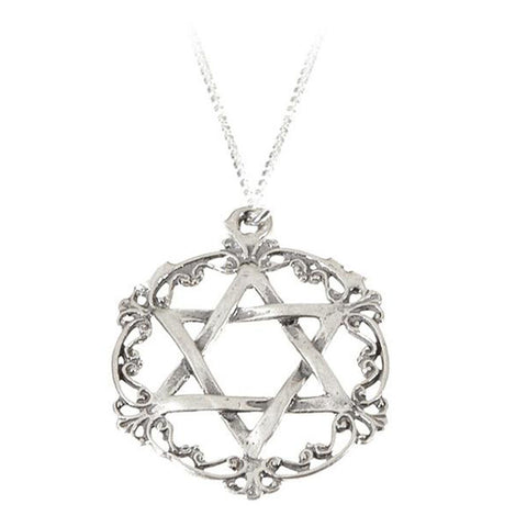 Queen Esther Silver Filigree Necklace - Holy Land Gifts