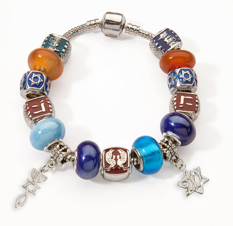 Bible Symbols Bracelet - Roots Symbol and Yeshua